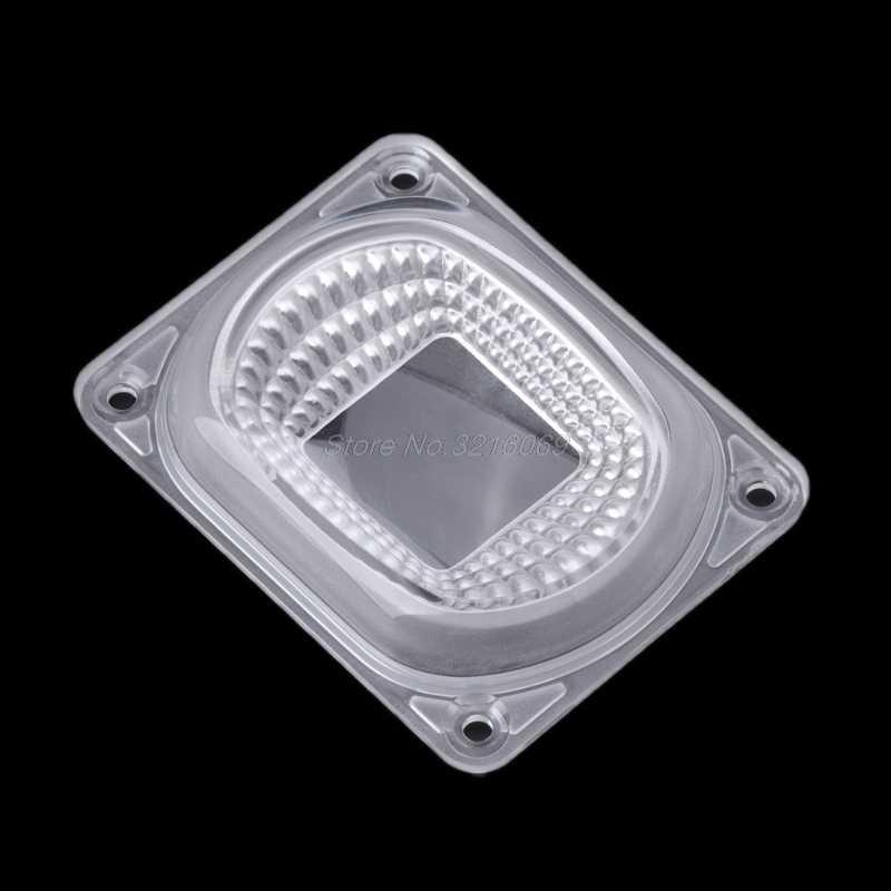 Светодиодный отражатель объектива для Светодиодный Ламповые лампы включают в себя: Объектив ПК + отражатель + Силиконовое кольцо крышка лампы оттенки прожектор DIY Oct29 Прямая поставка