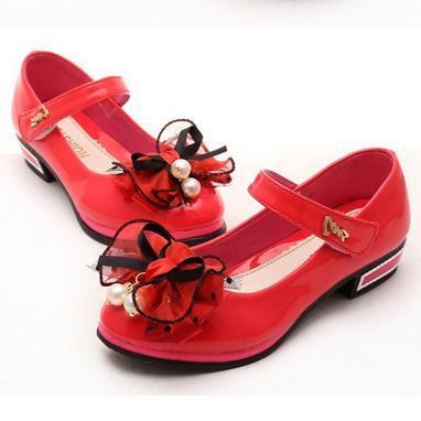 Новый 2016 Дети Принцесса Сандалии Обувь для Девочек Высокие Каблуки Платье Обувь Партия Обуви Для Девочек танцевальная обувь size26-37 804d