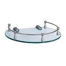 Полочка для ванны WasserKRAFT K-566 (Металл, хромоникелевое покрытие, уплотнительные пластиковые кольца)