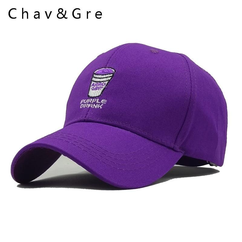 Chav Gre Purple Drank Baseball Cap Snapback Hats For Men Women Hip Hop Dad  Hat Bone Garros 3c700bcce8d