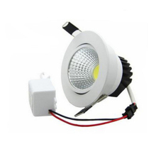 10X  Dimmable LED COB Downlight AC110V 220V 5W/7W/9W/12W Recessed Spot Light lumination Indoor Decoration Ceiling Lamp