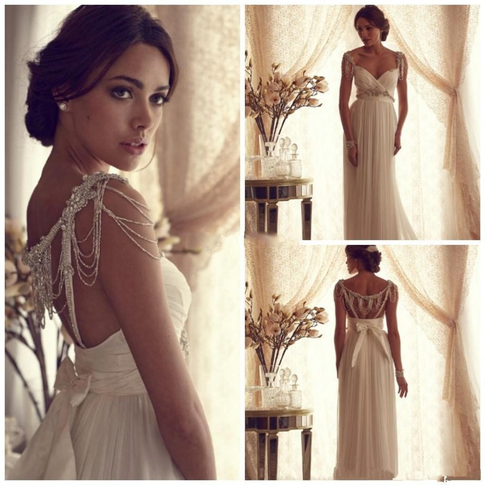 grecian wedding gowns greek goddess wedding dress Grecian wedding dresses Mori Lee