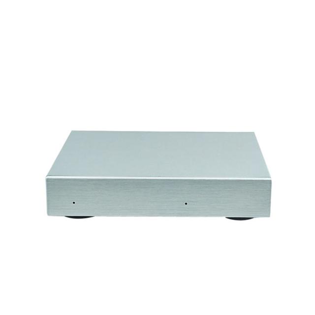 USB3.1 TIPO C invólucro de Alumínio Dual card Gabinete HDD Externo