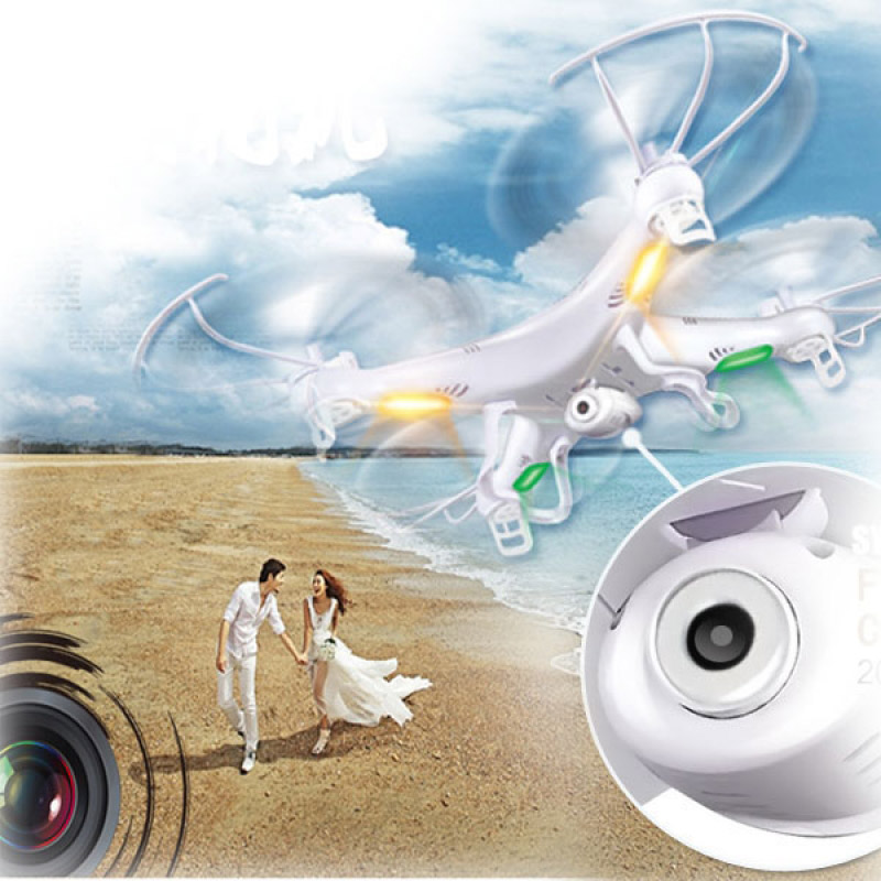 SYMA X5C 4CH 6-Axis Gyro RC Quadcopter Toys Drone With 2MP HD Camera Aircraft RC Helicopter with Remote Control RC Boys Toy