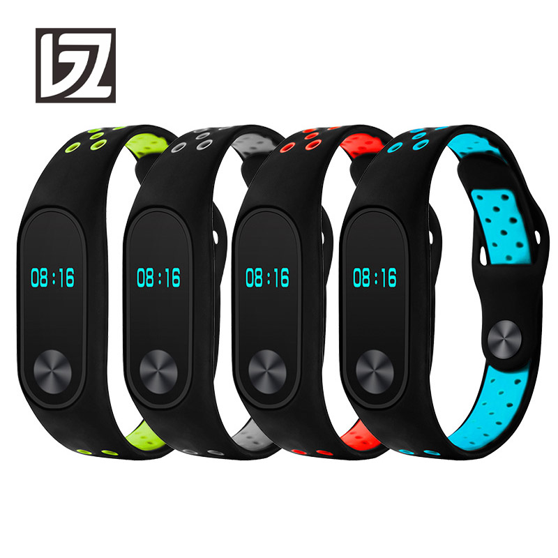 Silicone Straps for Xiaomi mi band 2 Strap miband 2 Strap Watch Band Washable Sport Watchbands Men Women Male Female Fitness original xiaomi steel net watch band for miband