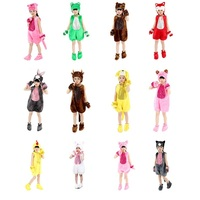 Children Animal Costume Kids Cosplay Hollyween Cartoon Performance Uniforms Boys Girls Chicken Pig Cat Rabbit Dog Sheep Fox Frog