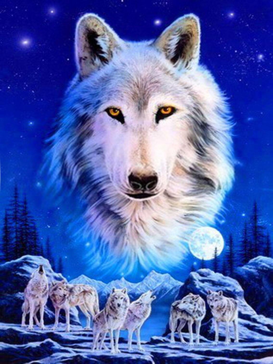 должен картинки сверкающих волков опубликовал своей странице
