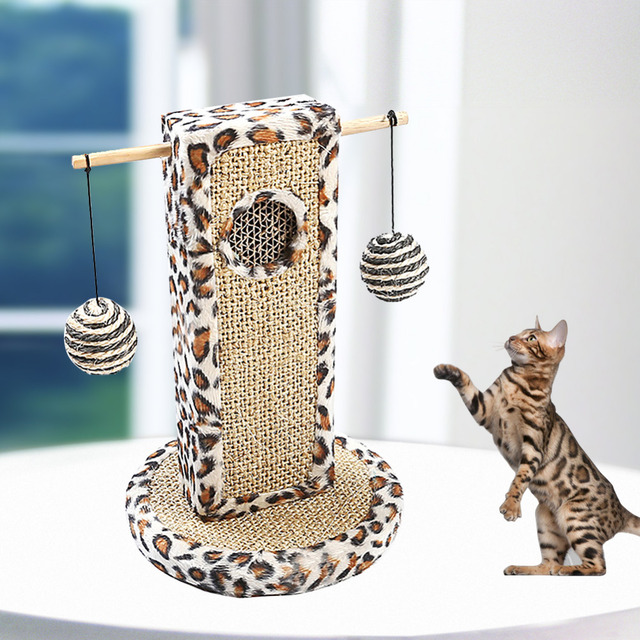 Cat Toy Cat Scratch Board Small Bee Cat Climbing Frame Sisal Cat ...