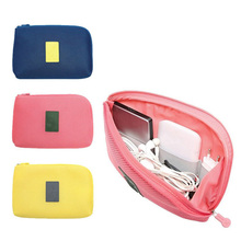 Accessories-Bag Organizer Usb-Charger Travel Makeup Cosmetic Shockproof Cable-Earphone-Case