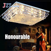 Z Best Price Modern LED Rectangle Ceiling Lights Living Room Restaurant Crystal Light LED Lighting Fixtures