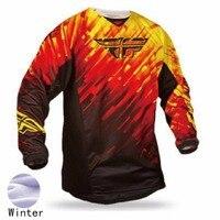 Martin Fox Downhill AM DH Cycling Thermal Fleece Mountain Bike Winter Motorcycle Clothing Cycying XXS TO