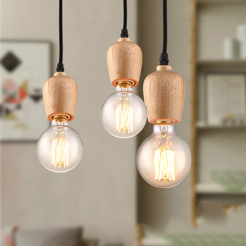 bulb lighting pendant hanging lights light lnc use products ceiling indoor cage lamp home