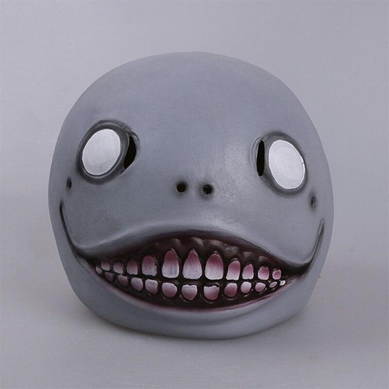 Game NieR:Automata Cosplay Headgear Emil Headgear Mask Halloween Party Cosplay Funny Headgear Mask