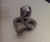 Mini ball bearing for mini dual wheel for your cnc building Chrome Steel 100pcs Free shipping
