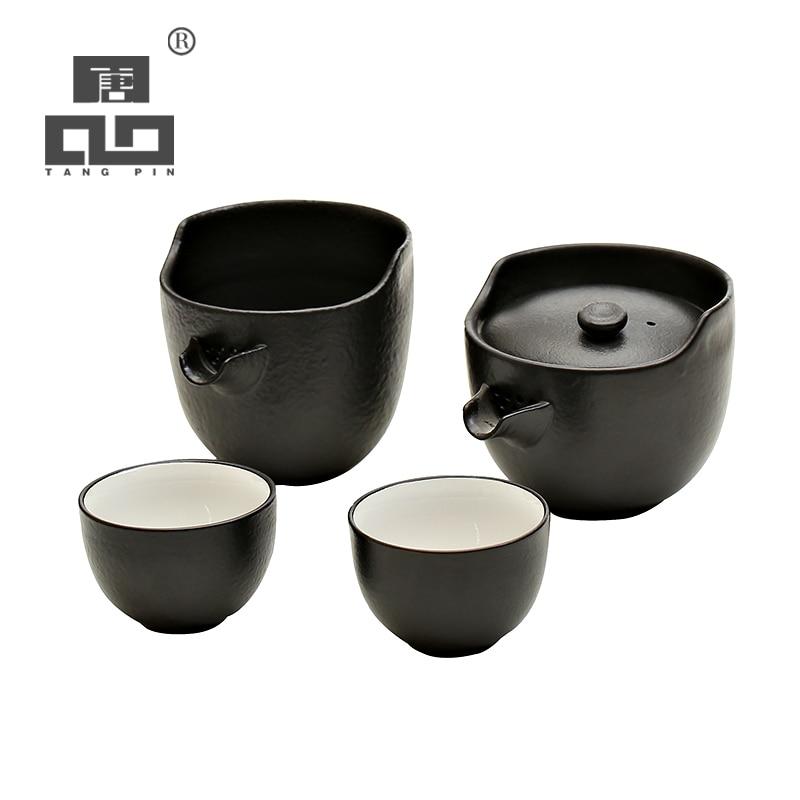 Tangpin керамический чайник чашки японский чайный сервиз на Рождество