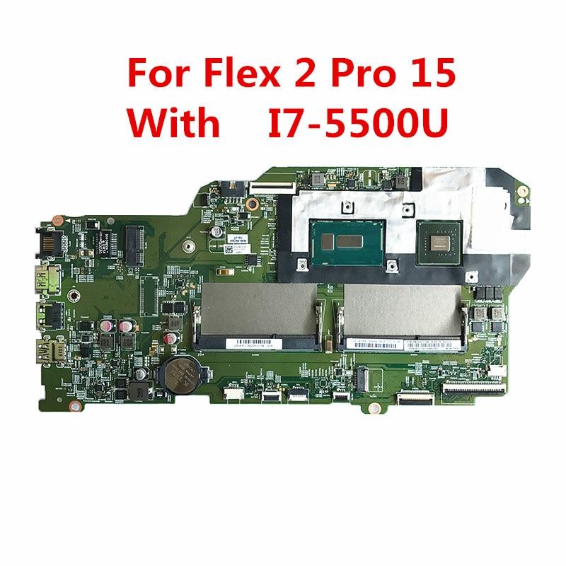 Laptop Zubehör Honig Für Lenovo Flex 2 Pro 15 Laptop Motherboard Mit Sr23w I7-5500 Cpu 5b20h33184 448.03g01.0021 Mainboard 100% Geprüft Schnelles Schiff