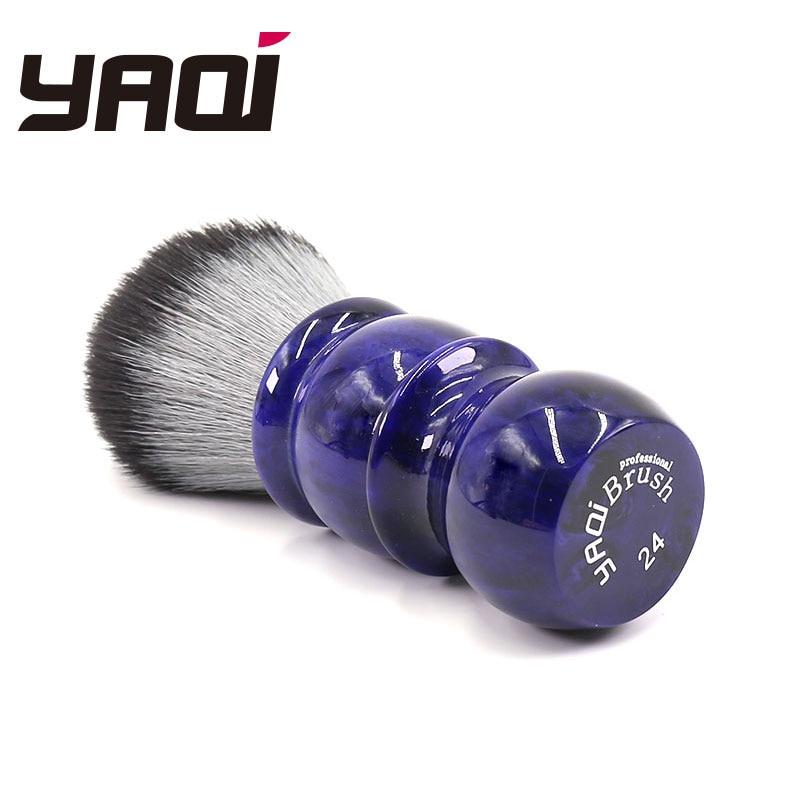 Yaqi 24mm Timber Wolf Color Synthetic Hair Barber Rakning - Rakning och hårborttagning - Foto 3