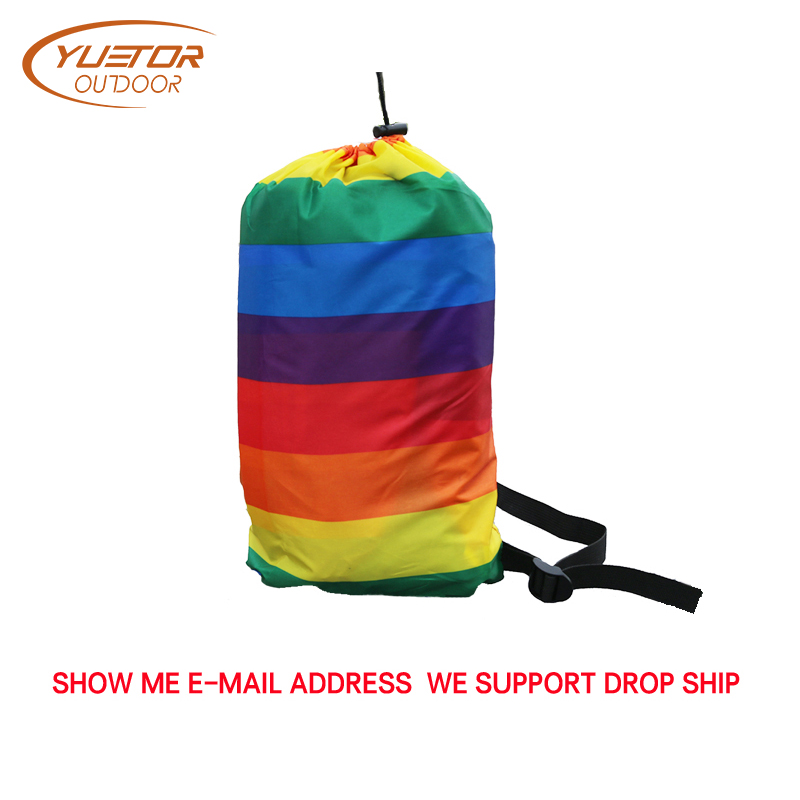 190T Banana Shape Beach Air Bed Inflatable Sofa Laybag Fast Folding Sleeping Air Sofa for Lazy Bag