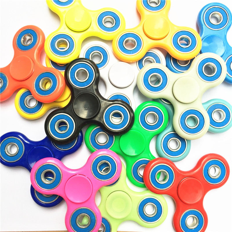 High Quality Tri-Spinner Fidget spinner Toy EDC AntiStress Hand Spinner For Autism...