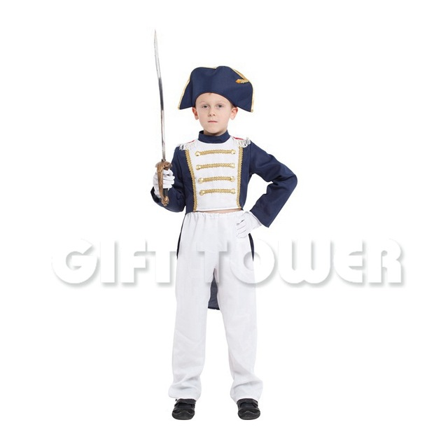 halloween costumes stage performance costume boy napoleon clothes kids halloween cosplay clothing little napoleon outfit gt115