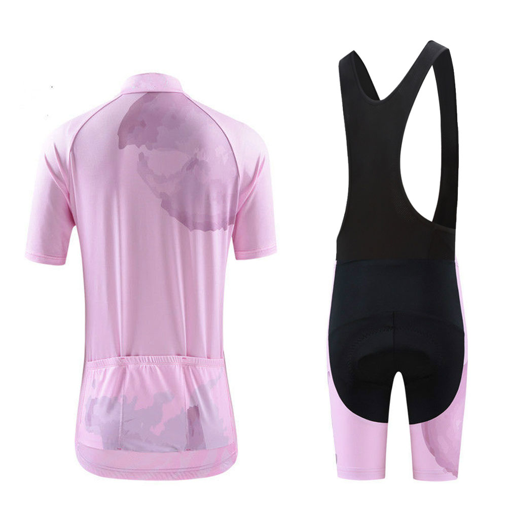 e37fe13bc Lotus Women s Cycling Clothing Kit Pink Maillot Ciclismo Cycling Jersey   Mtb  Bike Shorts Kit Equipe Girl Cycling Clothes Set -in Cycling Sets from Sports  ...