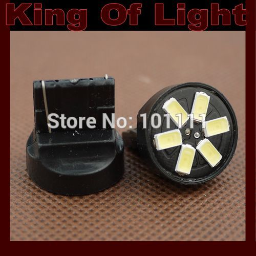 10x High quality led Car styling lighting T20 W21W 6smd 7440 6 LEDS SMD 5630 5730 turn lignt Free shipping