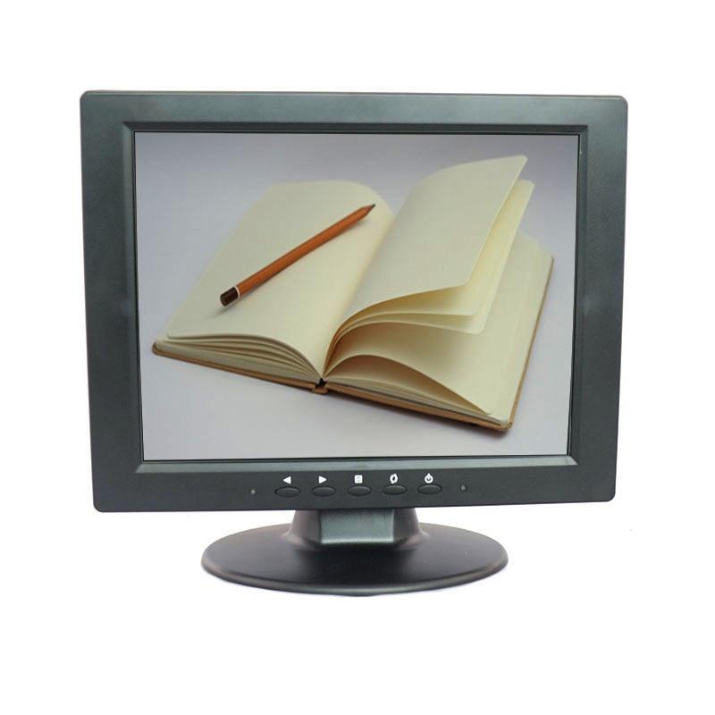 10.4 Inch TFT LED Color PC Audio Video Display VGA HDMI AV BNC Input Security CCTV Monitor Screen Built-in Speaker