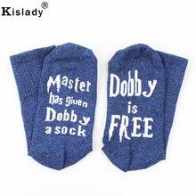 2018 Fashion Men s Letter Socks Master Has Given Dobby A Sock Mid tube Unisex Long