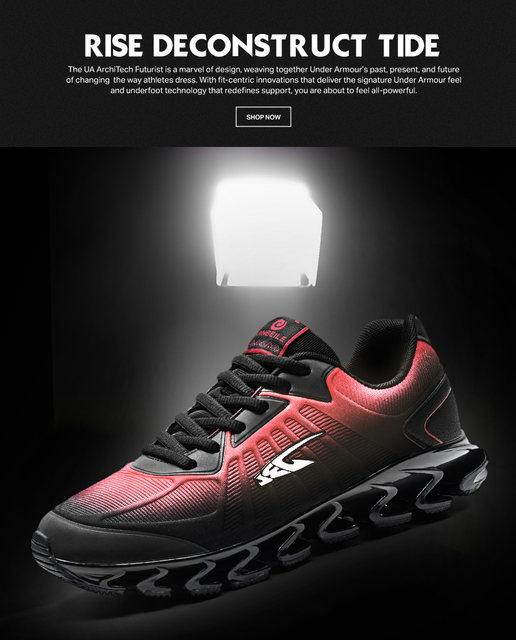 Online Shop Jinbeile 2018 Pisau Prajurit generasi sepatu lari shock ... 6a0523b44a