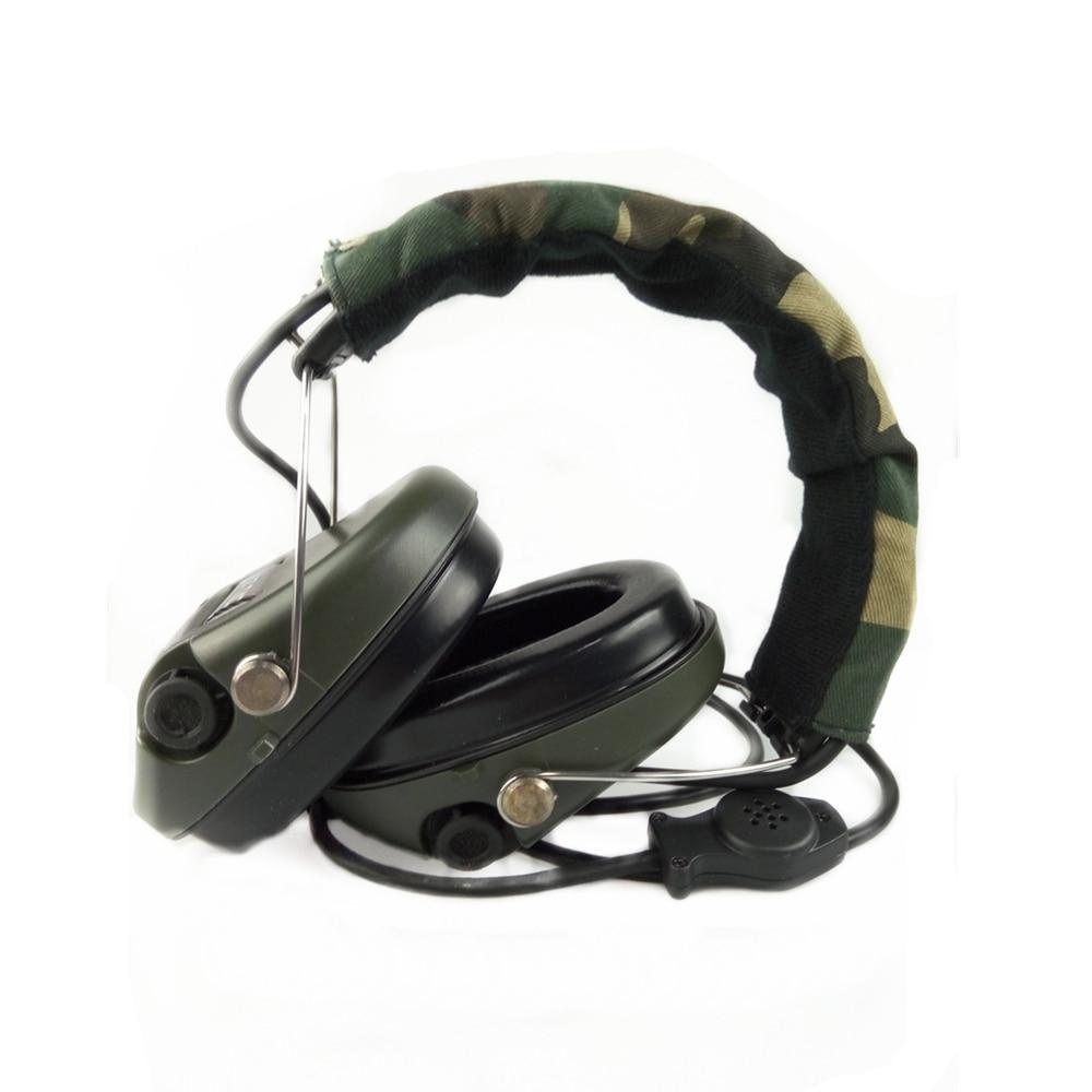 Z Tactical Military Headset Hoofdtelefoon Airsoft Radio Comtac IPSC - Jacht - Foto 2
