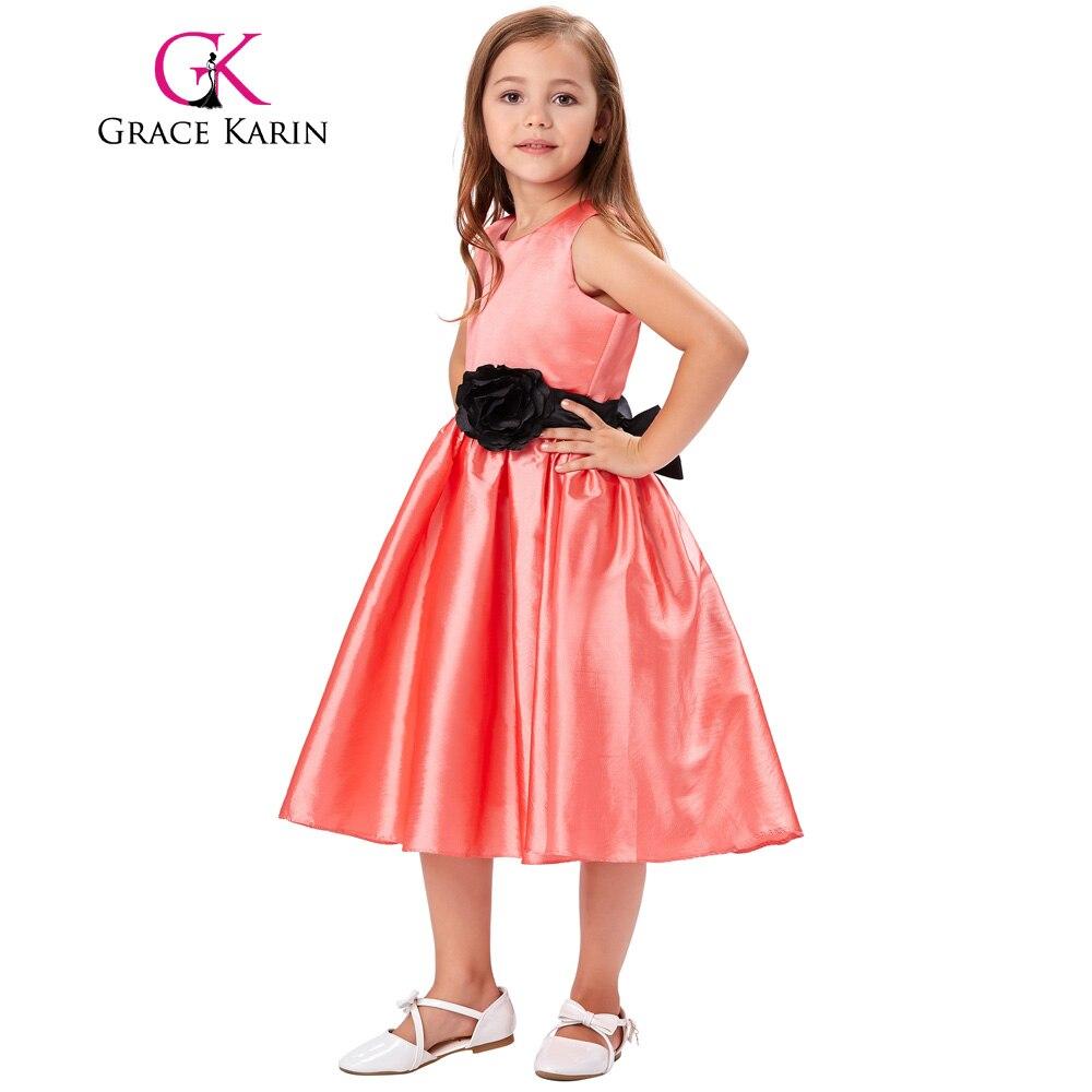 Grace Karin Sleeveless O Neck Flower Girl Princess Dresses 2018 ...
