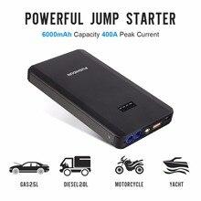 Pushidun автомобиля Батарея Зарядное устройство Пусковые устройства Многофункциональный автомобиль Запасные Аккумуляторы для телефонов с Smart Зажимы кабель 8000 мАч автомобилей Booster