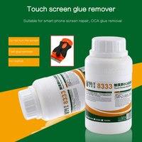 Forte 8222 8333 250ml tela de toque oca removendo líquidos reparação líquido cola líquido pcb limpeza para iphone sumsung + faca|Selante de silicone| |  -