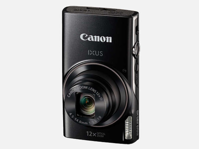 USED Canon IXUS 285 HS 20.2MP Digital Camera  WIFI NFC IS 12x Optical Zoom + 8GB Memory Card Suite Fully Tested