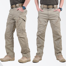 IX9 Militar Tactical Cargo Pants Men Combat SWAT Army Train Military Pants Casual Cotton Pockets Paintball Outdoors Army Trouser