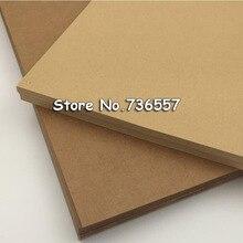 20 шт./лот A4 по оптовой цене! Высокое качество A4 плотная коричневая крафт-бумага бумажная доска картонная карта пустая