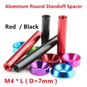 10pcs M4 Aluminum Spacers M4*1