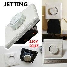 AC 220V LED диммер светильник переключатель регулировки светильник ing Управление потолочный Скорость вентилятора Управление настенный выключатель кнопки диммер