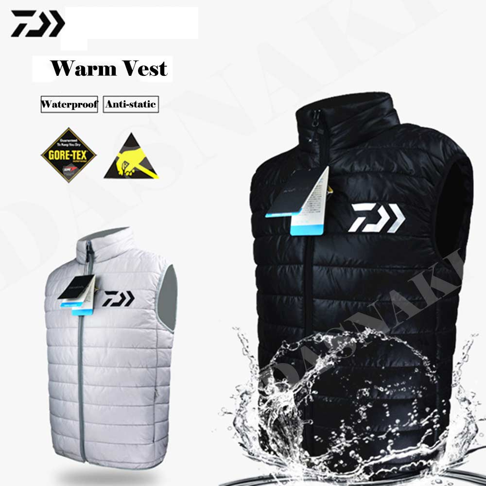 2017 Autumn And Winter Warm anti-static vest Down jacket for Outdoor Fishing Cycling Not deformation for pecas fishing jersey