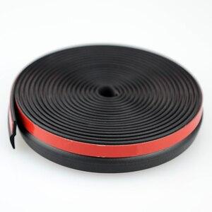 Image 5 - 4Meter Z typ 3m uszczelka do drzwi dobrej jakości uszczelka do drzwi samochodowych uszczelka z uszczelką wysokiej gęstości gumowa uszczelka akcesoria samochodowe