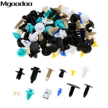 100/200/500PCS Mixed Fasteners Door Trim Panel Auto Bumper Rivet Car Clips Retainer Push Engine Cover Fastener Kit 12/20/30Kinds недорого
