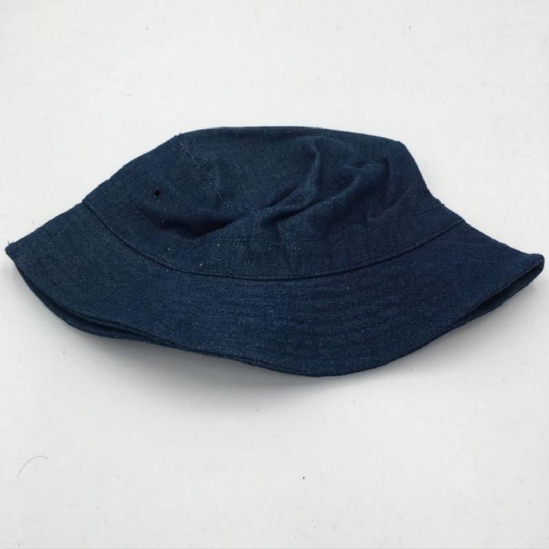 d5b8b30d769  Which in shower  women men plain denim bucket hat hip hop blank jean sun  hat beach summer panama sunshade dome fishing cap male-in Bucket Hats from  Men s ...
