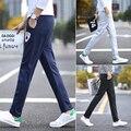 2017 AR moda de Los nuevos Hombres cortos pantalones joggers hip fitness pantalon casual pantalones de chándal M-5XL tamaño completo 3 color Juventud Recta pantalones