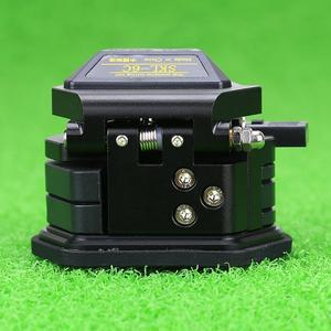 Image 3 - Kelushi Fiber Cleaver SKL 6C Kabel Snijmes Fttt Glasvezel Mes Gereedschap Hoge Precisie Cutter 12 Oppervlak Mes