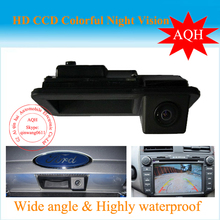 Бесплатная Доставка заднего вида Автомобиля ручка камера для Ford-Focus 2012 Sony CCD версия