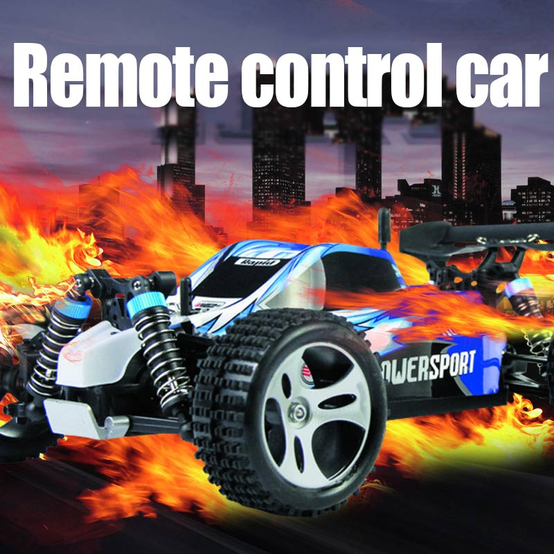 RC Car 2.4G 1/18 Scale Remote Control Model 4WD Off-Road RC Buggy For Wltoys A959 Vehicle Toys Children Birthday Gifts @ZJF