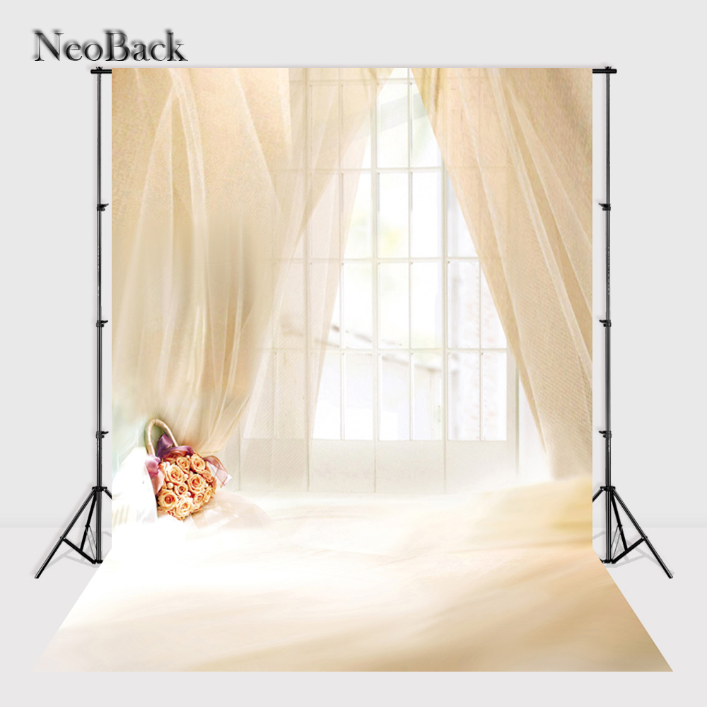 NeoBack Vinyl Cloth New Born Baby Photo Backdrop Children Kids Photography backgrounds Printed Photographic Backdrops A2443