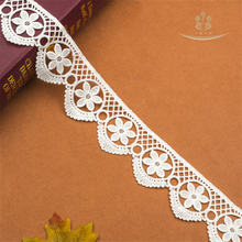 55 см Φ 1 ярд кружева с вышивкой одна сторона красивая лента