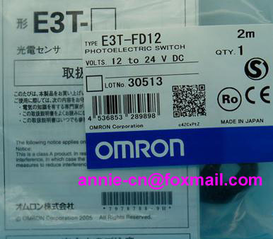 New and original  E3T-FD12  OMRON Photoelectric sensor  Photoelectric switch   12-24VDC    2M  цены