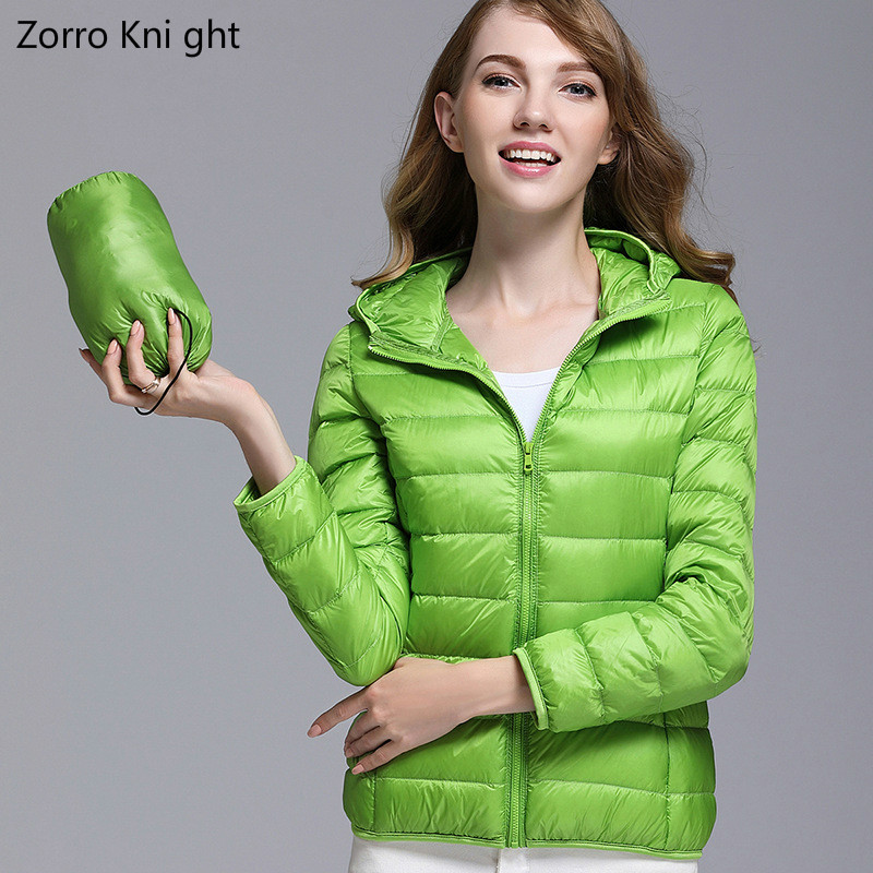 2018 Winter Jacket Women Plus Size Womens Parkas  Thin Outerwear Solid Hooded Coats Short Female Slim Cotton Padded Basic Tops